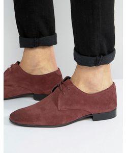ASOS | Derby Shoes In Suede