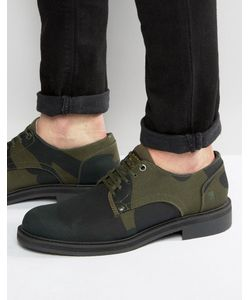 G-STAR | Camo Lace Up Derby Shoes