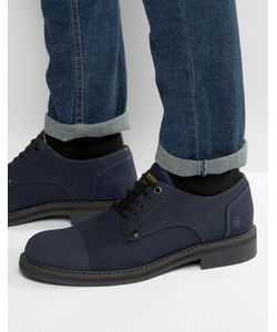 G-STAR | Denim Lace Up Derby Shoes