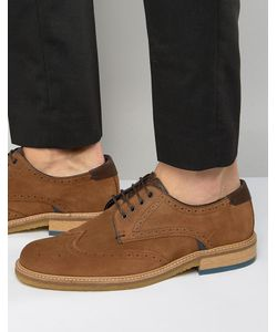 Ted Baker | Prycce Suede Brogue Shoes