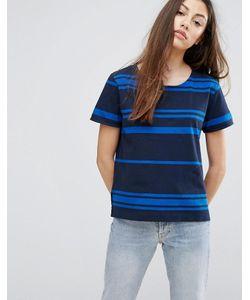YMC | Engineered Stripe T-Shirt
