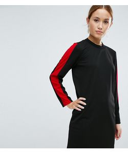 ASOS Petite   Sporty Shift Dress With Open Back