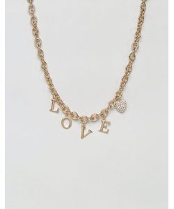 New Look | 90s Love Chain Necklace