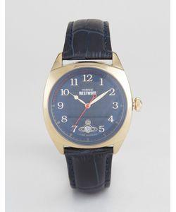 Vivienne Westwood | Leather Watch In Vv175blbl