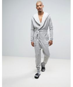 ASOS | Robe Onesie In Marl