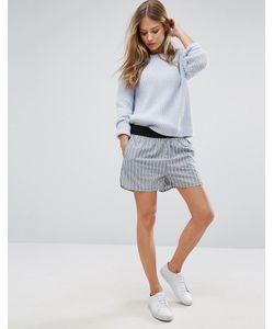 Ganni   Jackson Shorts In Verona Stripes