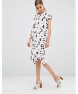 Just Female   Marble Shirt Dress