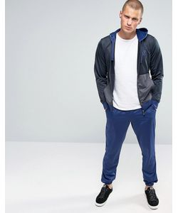 EA7   Emporio Armani Tracksuit Set With Hood In