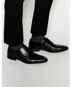 Dune | Leather Wing Tip Brogues