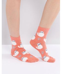 ASOS | Fluffy Cat Ankle Socks