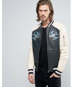 Goosecraft | Leather Souvenir Jacket