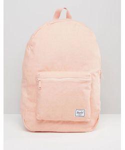Herschel Supply Co.   Herschel Supply Co. Cotton Daypack Backpack In Apricot Blush