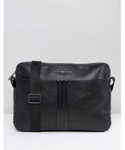 Tommy Hilfiger | Leather Messenger Bag
