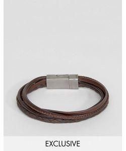 Seven London | Leather Multi Bracelet In