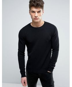SOLID   Textured Knit Sweater In