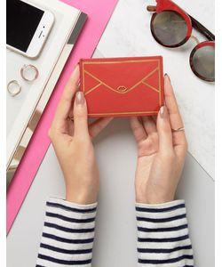 Lulu Guinness   Leather Envelope Card Holder