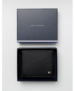 Tommy Hilfiger | Eton Mini Billfold Leather Wallet In