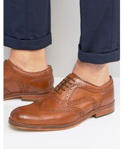 Hudson London | Keating Leather Brogue Shoes