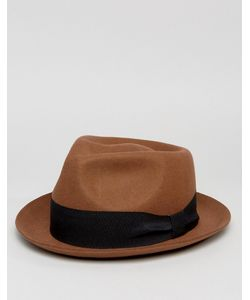 ASOS   Pork Pie Hat With Pinched Crown In