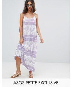 ASOS Petite   Tie Dye Maxi Dress