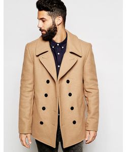 Gloverall | Peacoat In Wool