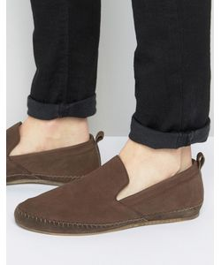 Frank Wright | Slip On Espadrilles Shoes In Leather