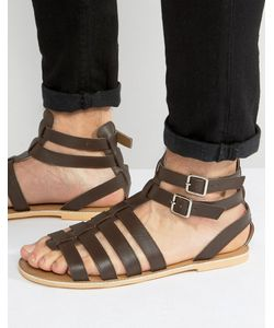 Frank Wright | Gladiator Sandals In Leather