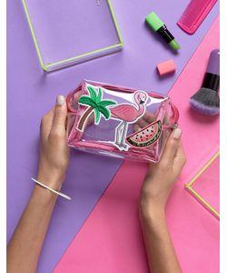 Paperchase   Flamingo Cosmetic Case Multi