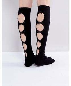 ASOS | Bow Back Knee High Socks