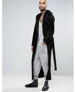 ASOS | Extreme Longline Shawl Neck Fleece Robe