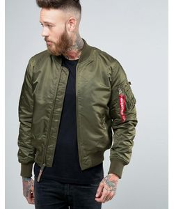 Alpha Industries | Ma-1 Bomber Jacket Insulated In Slim Fit Dark
