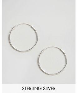Fashionology | Sterling Large Hoop Earrings