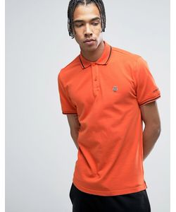 Love Moschino | Tipped Polo Shirt With Chest Logo