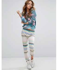 Wildfox | Stripe Sweatpant
