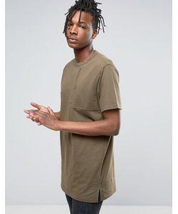 Maharishi   T-Shirt In With Large Pocket