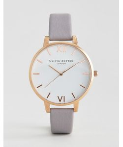 Olivia Burton | Lilac Large Dial Leather Watch