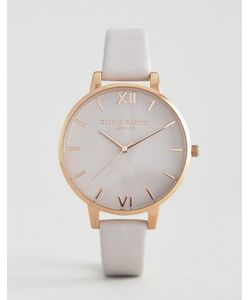 Olivia Burton | Begin To Blush Leather Watch