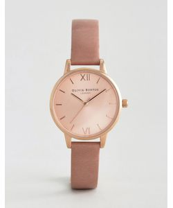 Olivia Burton | Rose Midi Dial Leather Watch