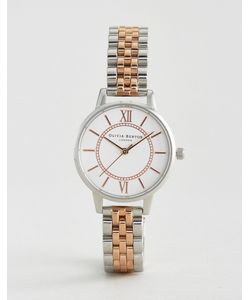 Olivia Burton | Mixed Metal Wonderland Metal Watch