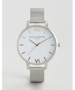 Olivia Burton | Large Dial Mesh Watch