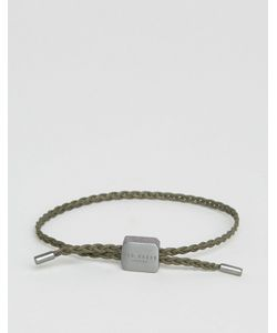 b43e7c53f Ted Baker - Leather Braid Cord Bracelet In