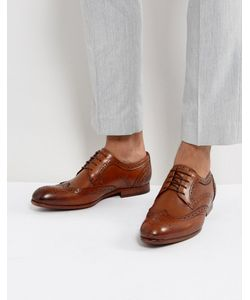 Ted Baker | Granet Leather Brogue Shoes In