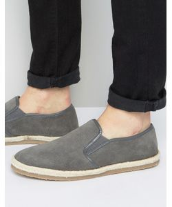 Frank Wright | Slip On Espadrilles Shoes Suede