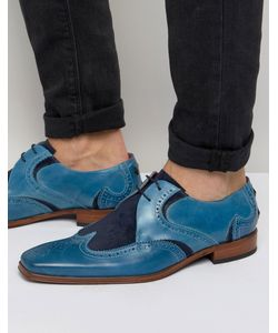 Jeffery West | Scarface Leather Suede Derby Shoes