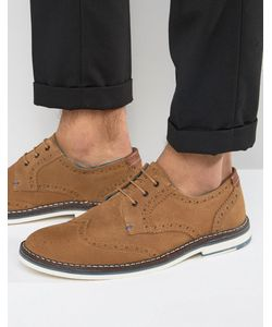 Ted Baker | Reith Suede Brogue Shoes
