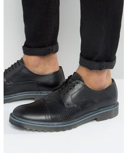 Hugo | By Boss Pure Snake Toe Cap Derby Shoes