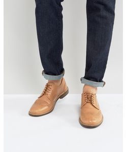 ASOS | Brogue Shoes In Vegetan Leather