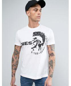 Diesel | T-Ulee Mohawk T-Shirt Wh1 1