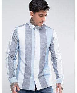 YMC | Wide Stripe Button Down Shirt