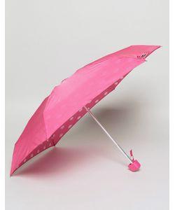 Lulu Guinness   Tiny Inside Lips Print Umbrella